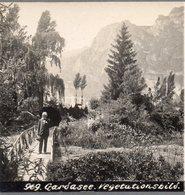 AK-2290/ Gardasee Italien  Stereofoto Ca.1905  - Stereo-Photographie
