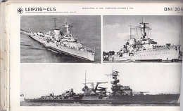 German Navy ,schémas,photos,descriptions De Tous Les Bateaux Allemands,.documentation U.S. De 1942 ,166 P.,3 Scans - Boats
