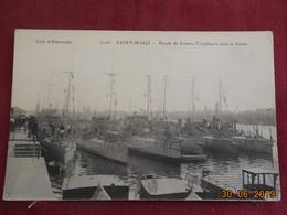 CPA - Saint-Malo - Escadre De Contre-Torpilleurs Dans Le Bassin - Saint Malo