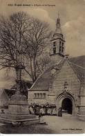 29 - ERGUE-ARMEL - L'eglise Et Le Calvaire - - Ergué-Gabéric