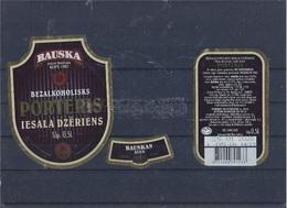 """Non-alcoholic Malt Drink """"Porteris"""" Labels - Labels"""
