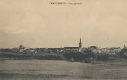 Chanteheux  Vue Générale - Francia