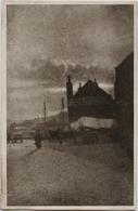 Paysage - Carte Cartonnée Et Légèrement Toilée - Précurseur 1901 - Postée De Beyrouth - Fantaisies
