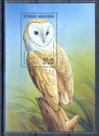 D157- Madagascar 1998 Birds Owls - Owls
