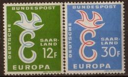 ALLEMAGNE SARRE (ZOF)- Europa CEPT 1958 - Franse Zone