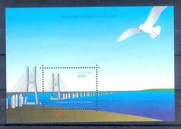 D158- Portugal 1998. Birds. Pegion. Vasco Da Gama Bridge On The Tague Lisbon 1998. - Birds