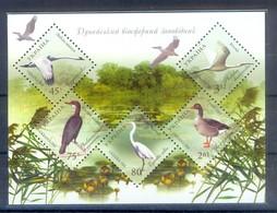 D161- Ukraine, 2004. Birds Fauna Danube's Nature Reserve. Plants. Tree. - Birds