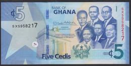 Ghana 5 Cedis 2019 Pnew UNC - Ghana