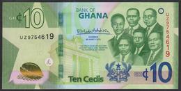 Ghana 10 Cedis 2019 Pnew UNC - Ghana