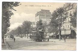 PARIS - L'avenue D'Italie - Arrondissement: 13