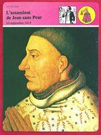 L'assassinat De Jean Sans Peur Par Tanneguy Duchatel. Guerre Civile Entre Armagnacs Et Bourguignons. Moyen Age. - History