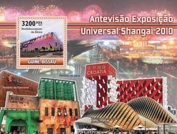 Guinea-Bissau, 2010. [gb10408] Shanghai Expo 2010 (s\s+block) - 2010 – Shanghai (China)