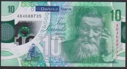 Northen Ireland Danske Bank 10 Pound 2017 Pnew UNC - [ 2] Ireland-Northern