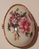 Porcelain Fine, Eggs, Egg Made Of Fine Porcelain, Nice - Eggs