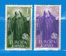 (Mn1)  SPAGNA **- 1965 - EUROPA. Yvert  1335 - 1336.  MNH. NUOVI Vedi Descrizione - 1931-Oggi: 2. Rep. - ... Juan Carlos I