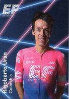 Cyclisme, Rigoberto Uran, 2019, Format 6,3 X 9 Cm - Cycling