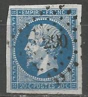 FRANCE - Oblitération Petits Chiffres LP 290 BAVAY (Nord) - Marcophilie (Timbres Détachés)