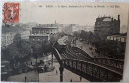 PARIS Le Metro Boulevard De La Villette La Rotonde - Stations, Underground