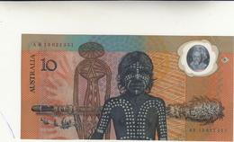 10 Dollars Australia Polymer   No Data. Pieghe - Emisiones Gubernamentales Decimales 1966-...