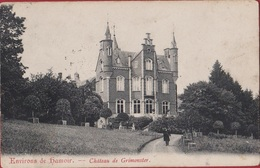 Environs De Hamoir - Château De Grimonster Liege Luik Animée 1909 - Hamoir
