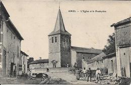 Amel - L'église Et Le Presbytère - Francia
