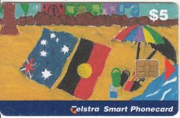 AUSTRALIA(chip) - Australia Day 1999, Exp.date 02/01, Used - Australia