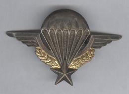 Insigne Brevet Parachutiste - Drago Rue De Romainville - Déposé Reproduction Interdite - Armée De Terre