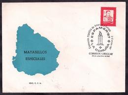 """Uruguay - 1987 - FDC - Exposition Philatélique D'Amérique Et D'Europe - """"Espamer 87"""" - Uruguay"""