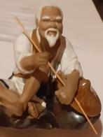 PORCELAIN CHINA , Wan Jing,PORCELAIN CHINA , Fisherman, WAN JING, MADE IN CHINA - Céramiques