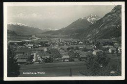 Jenbach Gegen Westen Chizzall Gefaltete Obere Rechte Ecke - Jenbach