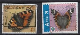 België O.B.C 4321 / 4322  (O)  Op Fragment - Oblitérés