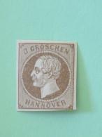 Hanover 1861 Mint Stamp King George V - Imperf. - Cat. Val. = 22.50 $ - Hannover