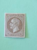 Hanover 1864 Mint Stamp King George V - Perce En Arc - Cat. Val. = 60 $ - Hannover