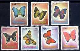Nicaragua 1986 Butterflies - MINT - Nicaragua