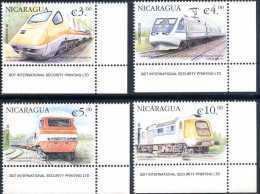 Nicaragua 2000 - Trains - Nicaragua