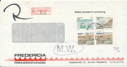 Denmark Registered Cover Fredericia 30-6-1981 - Denmark
