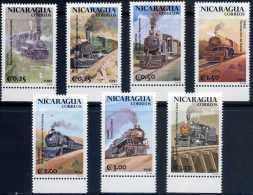 Nicaragua 1991 Trains Locomotives Of South America - Nicaragua