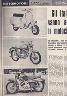 (pagine-pages)GLI ITALIANI E LA MOTO  Rotosei1961/50. - Libri, Riviste, Fumetti