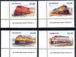 Nicaragua 1999 Trains - Nicaragua