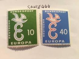 Germany Europa 1958 Mnh - [7] Federal Republic