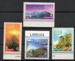 China Chine : (50) 1996 Hong Kong - Montagnes De HK SG837/40** - 1997-... Sonderverwaltungszone Der China