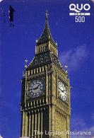 Carte Japon - Site Angleterre  Londres- BIG BEN / London Assurance Insurance - England Rel Japan Quo Card Assu - 173 - Japan