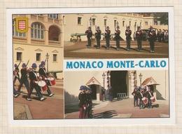 9AL1687 MONACO MONTE CARLO COMPAGNIE DES CARABINIERS  2 SCANS - Monte-Carlo