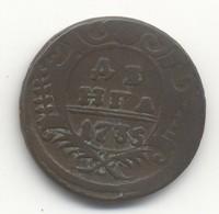 RUSSIE Denga - Anna Ivan VI 1735 - Russie
