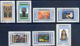 Nicaragua 1992 Contemporary Paintings - Nicaragua