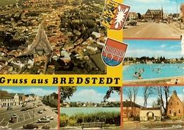 Germany & Circulated, Gruss Aus Bredstedt, Niebüll To Meschede 1976 (6833) - Bredstedt