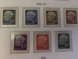 Germany Definitive Heuss 1957 Mnh - [7] Federal Republic