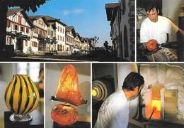 64 Ainhoa Atelier D'Art Verrier Jacques Gourvil (2 Scans) - Ainhoa