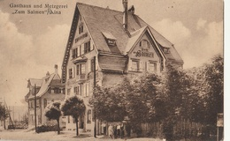"""ALLEMAGNE - Gasthaus Und Metzgerei """" Zum Salmen """" RINA - Allemagne"""