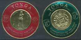 [602206]TB//**/Mnh-TONGA - PA 1/2, Série De La Monnaie D'or - Tonga (1970-...)